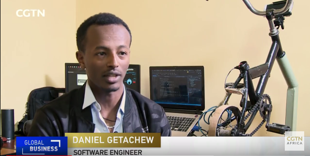 Engineer-incorporates-bikes-into-video-gaming-in-Ethiopia